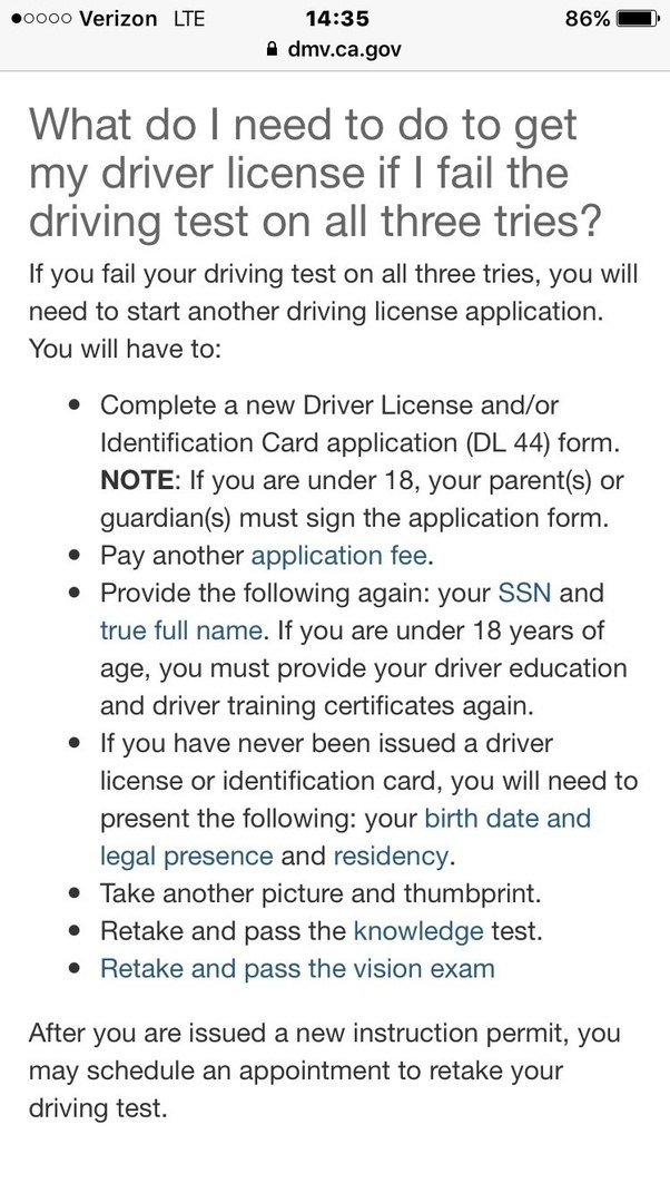 Is The California Dmv Road Test Too Strict Quora