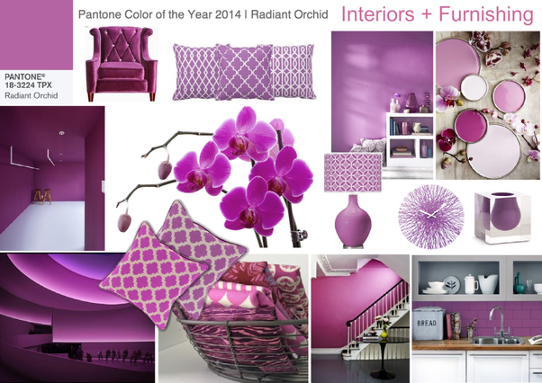 ... Set Of Color Variant Theme (for Eg. Modern Theme Or Vintage Theme Or  Vector Theme) Is Collage In A Board Like Image Known As Interior Design  Mood Board