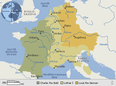 What Is The Origin Of Modern France And Germany As In How Did The - Is spain in france
