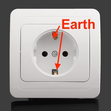 The problem with European sockets is that these same sockets are used for table lamps and can be switched at light switches.