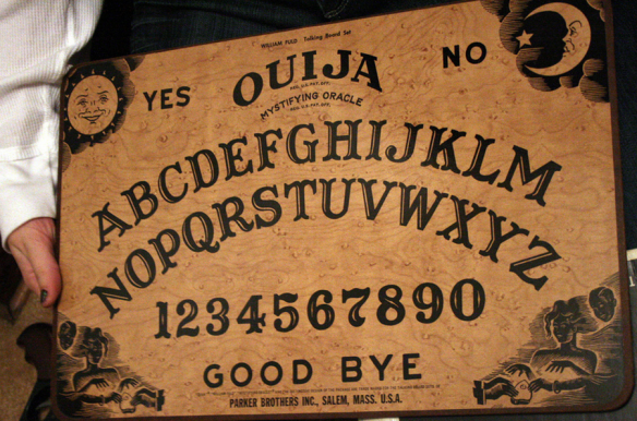 Why Is There A Moon On A Ouija Board Quora