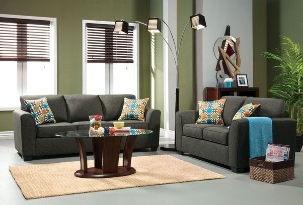 2018 Real Muebles Muebles De Sala Rushed Sectional Sofa