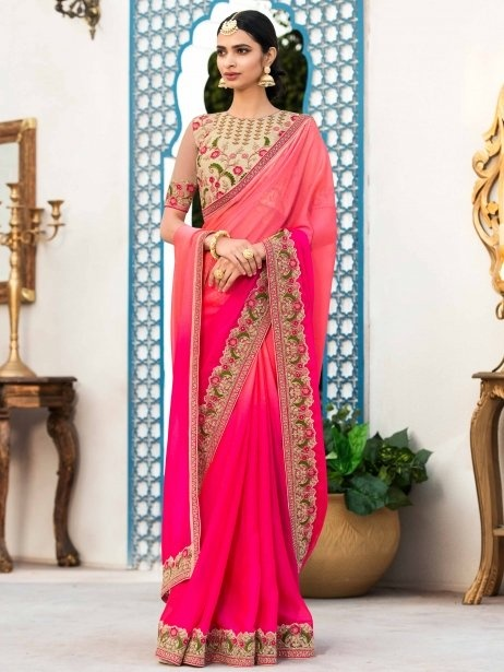 cd15208ad7dc96 Beige or dull, coppery or antique gold, provided it agrees with your  weave's texture and coloring, will make for a great choice. Natural tussar  or wild silk ...