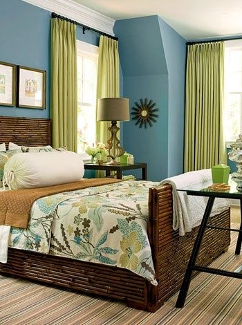 Attirant What Curtains Go With Turquoise Walls?   Quora