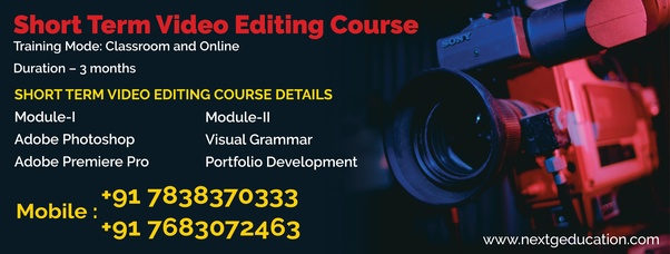 Which is the best place to learn video editing in Delhi? - Quora