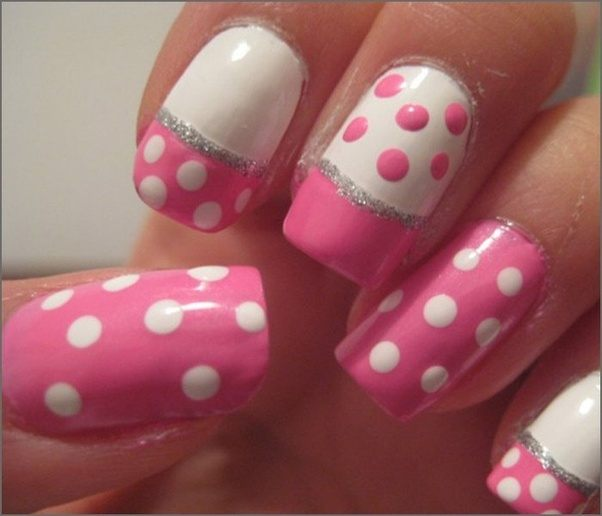 What Are The Best Pink And White Gel Nail Designs Quora