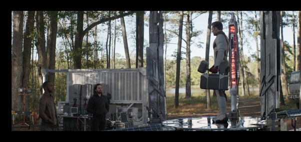 Did Captain America return Thor's hammer to the other reality in Avengers: Endgame? - Quora