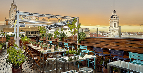Are the rooftop bars/terraces in Madrid open year round? - Quora