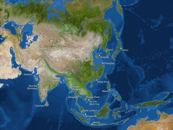 above is how the asia would look like flooding major coastal cities