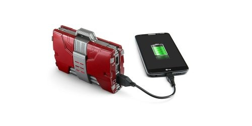 ... the Iron Man Mark V Armor Suitcase Mobile Fuel Cell comes equipped with an outstanding 12,000 mAh battery capacity, helping you power your mobile ...