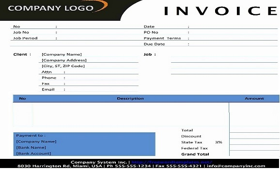 How Is GST Invoice Format Quora - Make an invoice in excel best online thrift stores