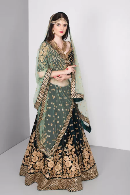 For Browsing Through Their Collection Of Party Wear Lehenga On Rent In Delhi Online You Can Visit Website Flyrobe