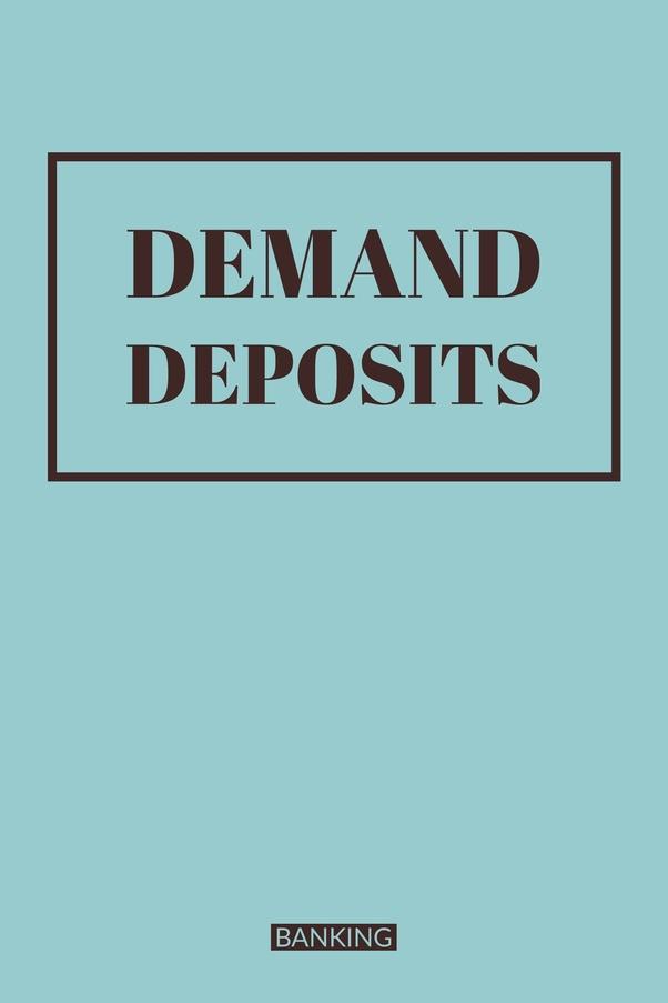 Demand deposit definition
