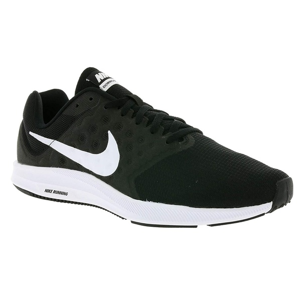 3a06fc24424e Nike Men s Downshifter 7 Black White Running Shoes (852459-002)