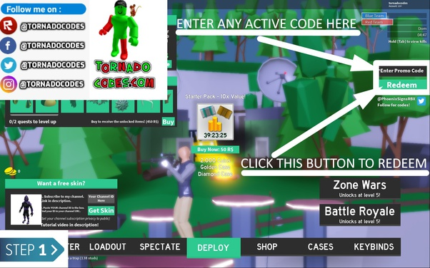 What Are The Codes For Roblox Strucid Quora