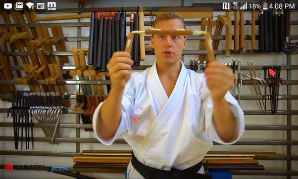 What is a three-section nunchaku? I do not mean a three ...