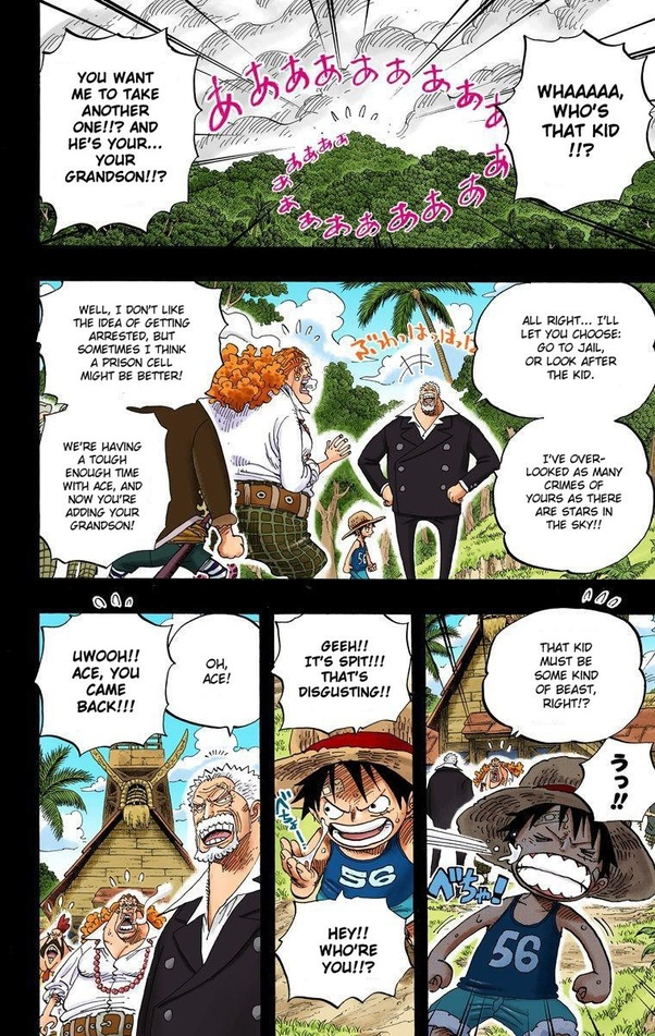 How did Luffy and Ace meet in One Piece? - Quora
