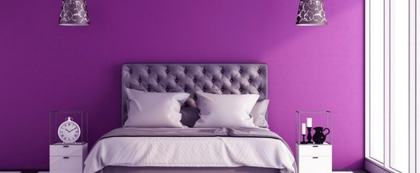 Royal Purples Create An Elegant Environment And If Blended With Satin Bedding You Will Easily Make Your Bedroom A Great Haven