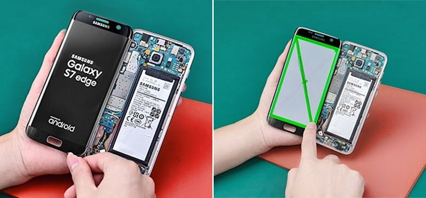 What is the cost of Samsung S7 Edge glass only? Can only the glass