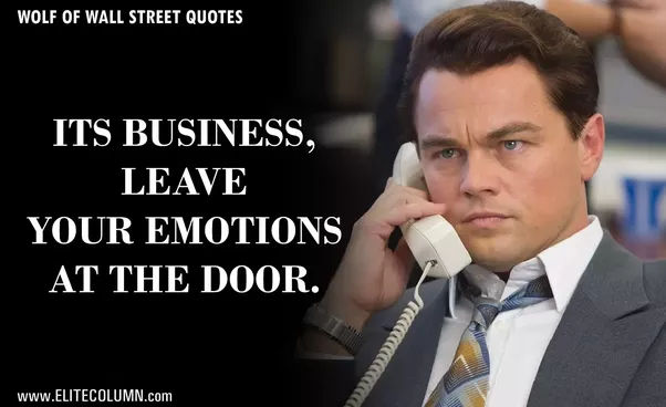 Wall Street Quotes Beauteous What Are People's Favorite Quotes From The Movie 'the Wolf Of Wall