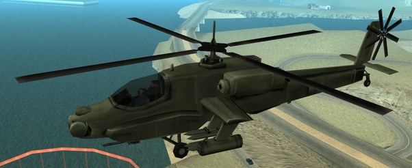 What is the helicopter cheat in GTA: San Andreas? - Quora