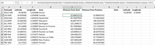 How to make a route plan for 200 villages through Excel - Quora