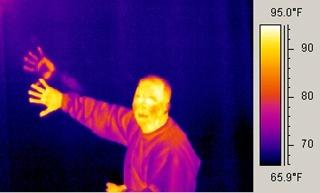 Image result for human infra red