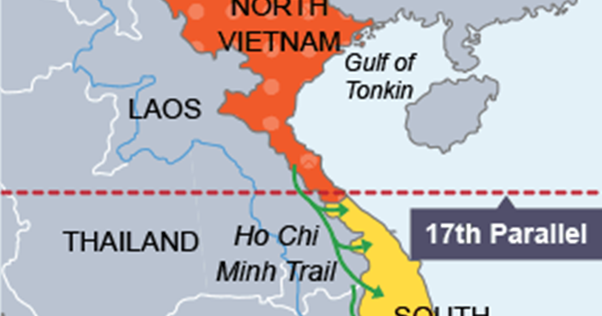 17th Parallel Vietnam Map.Why Do Some Boundary Lines Are Named As Parallels For Example 17th