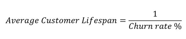 How to calculate customer lifespan - Quora