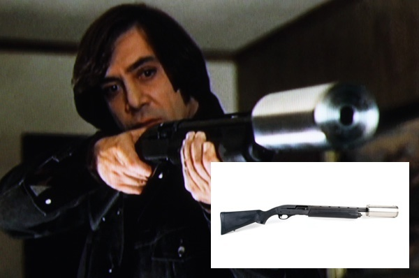 Is The Gun With The Silencer That Anton Chigurh Uses In No Country