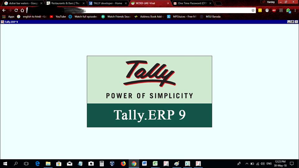 Tally Solutions Book Hindi
