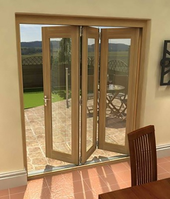 Folding Doors Are Perhaps The Most Compact Doors That Help Save Space In  The Room.