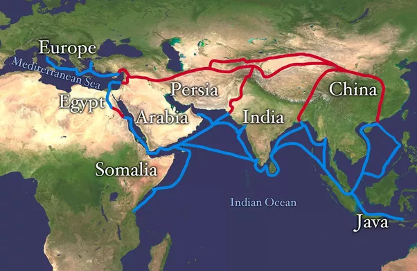 Why did europeans want to discover a sea route to india wouldnt it by the end of the medieval era all routes to india were passing over muslim lands and you needed to trade with the muslims turks arabs persians were gumiabroncs