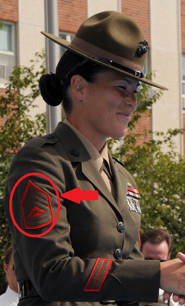 what are the hash marks on a marine corps uniform quora