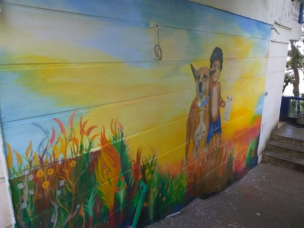 What Is The Best Paint To Use When Painting A Wall Mural Quora