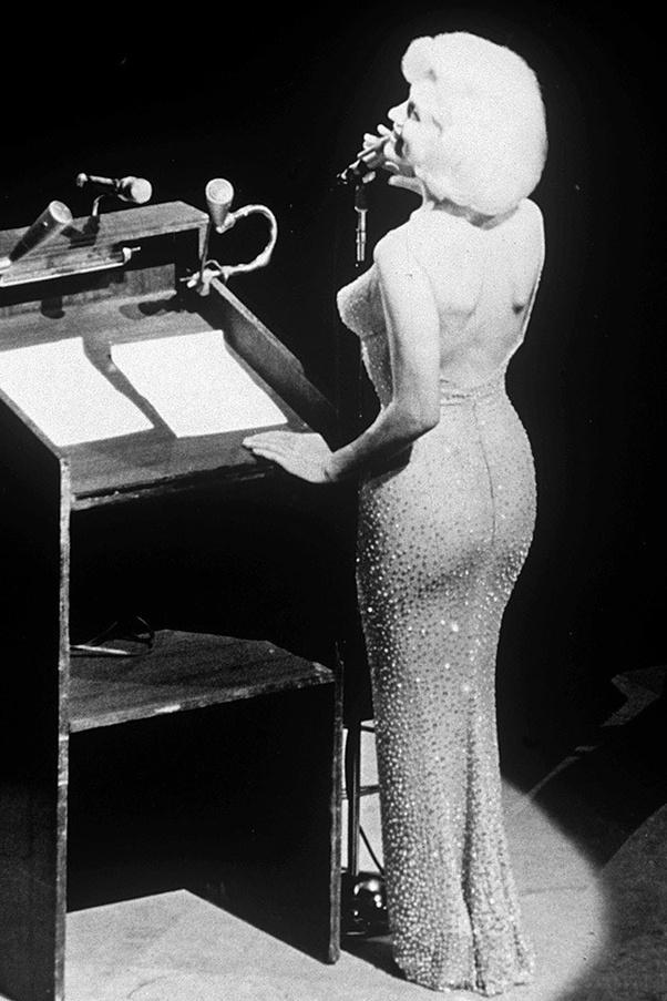 Marilyn Monroes Happy Birthday Mr. President dress