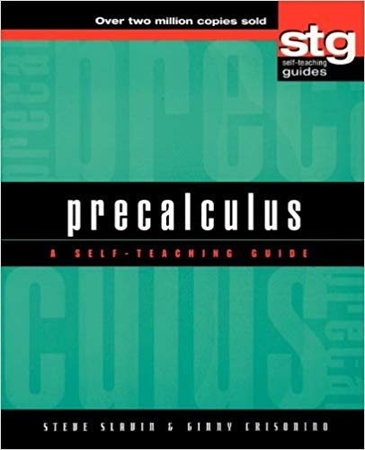 What is a good pre-calculus textbook to self-study? - Quora