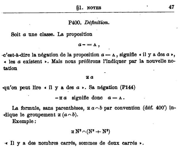 Superior From Peanou0027s Formuaire Du Mathématiques, Volume II.