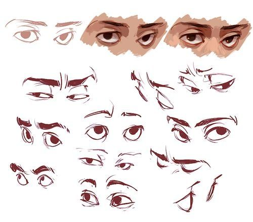 Cartoon Character Design Eyes : How to improve the way i draw anime eyes quora