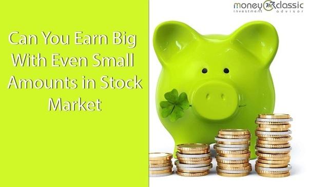 Quel est le meilleur moyen d'investir une petite somme d'argent?