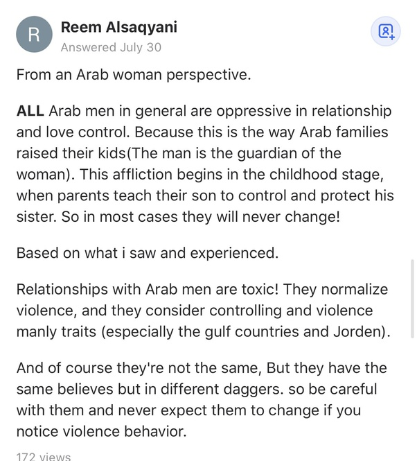 Date should why an arab you Arab Dating: