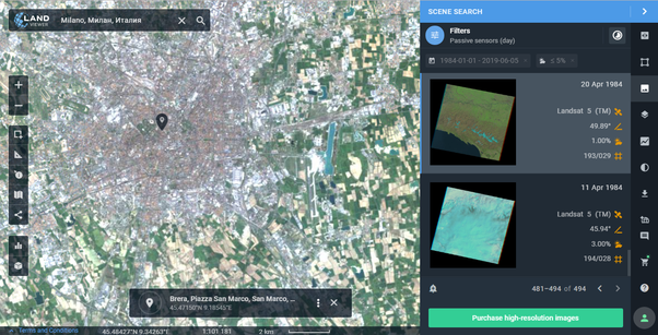 Can I get old satellite images on Google Maps? - Quora