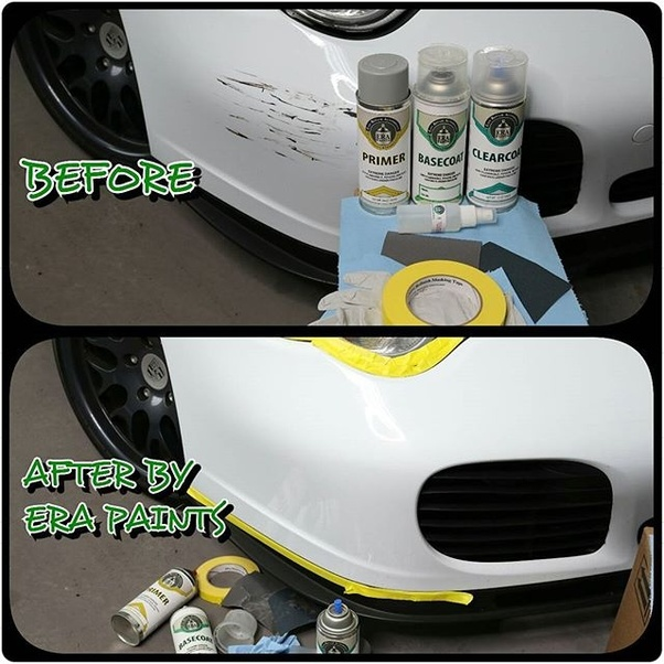 How To Touch Up Car Paint With Spray Paint Quora