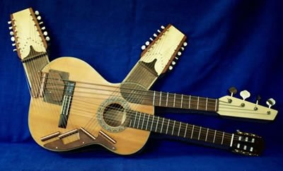 what is the point of a double necked guitar quora. Black Bedroom Furniture Sets. Home Design Ideas