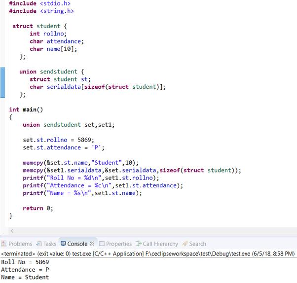 C programming hands-on tutorial part 13: struct, typedef, enum and.