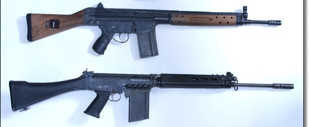 Why is the grip on the FN FAL canted at such an angle? - Quora