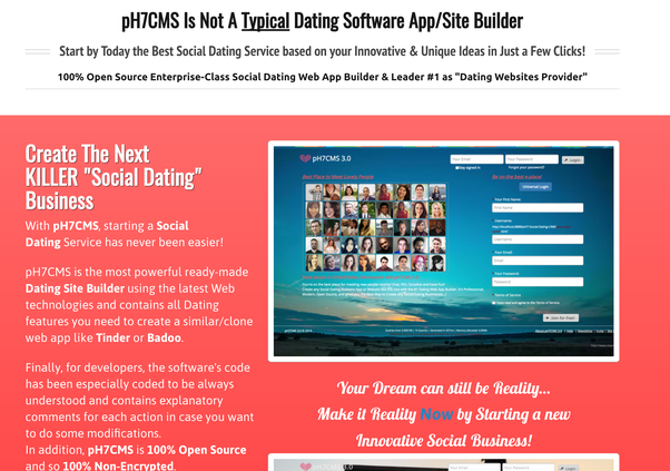 best cms dating site Real title: stubborn dating software providers that are still in business this is not a collection of software reviews it's more of an overview of key players in dating software industry and some insights on the idea of building a dating site with an off-the-shelf platform white-label, open-source, downloadable dating.