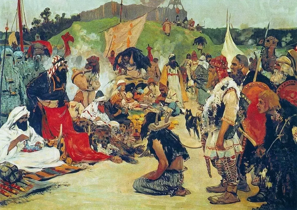 Trade in the land of East Slavs by Sergey Ivanov