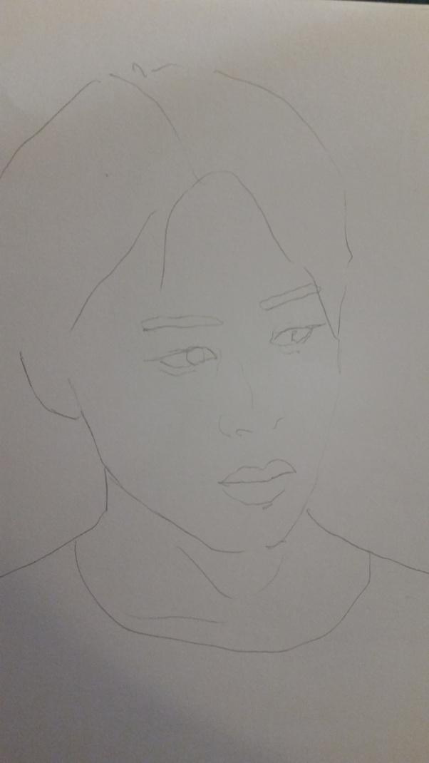 How To Draw Korean Idols Faces Quora