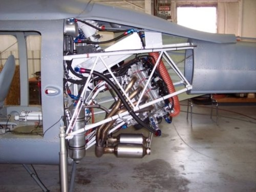 Can a helicopter be powered with a V8/V6 engine? - Quora